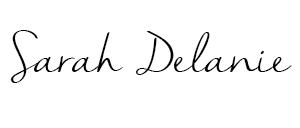 Sarah Delanie Blog logo